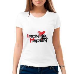 Iron Maiden, рыжая девушка