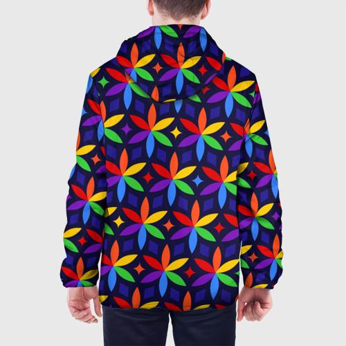 Мужская куртка 3D  Фото 05, Holi flowers