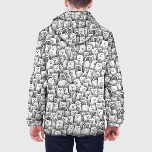 Мужская куртка 3D  Фото 05, Нахальные коты