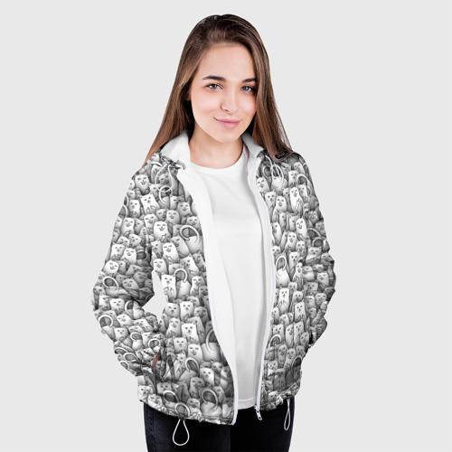 Женская куртка 3D  Фото 04, Нахальные коты