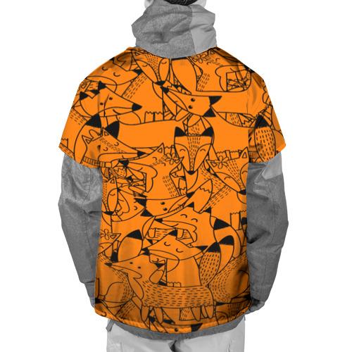 Накидка на куртку 3D  Фото 02, Лисички