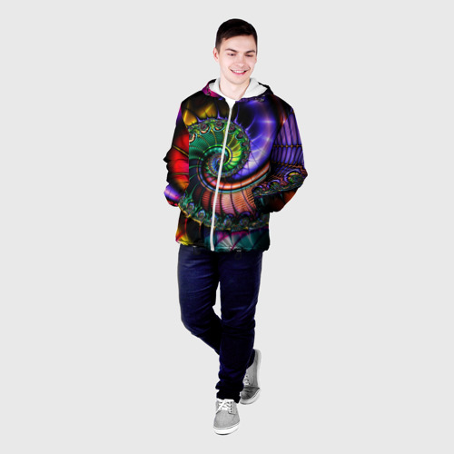 Мужская куртка 3D  Фото 03, Спираль