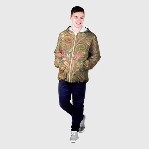 Мужская куртка 3D  Фото 03, Узор