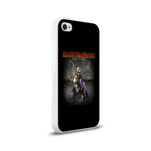 Чехол для Apple iPhone 4/4S силиконовый глянцевый  Фото 02, Iron Maiden manaus amazonas