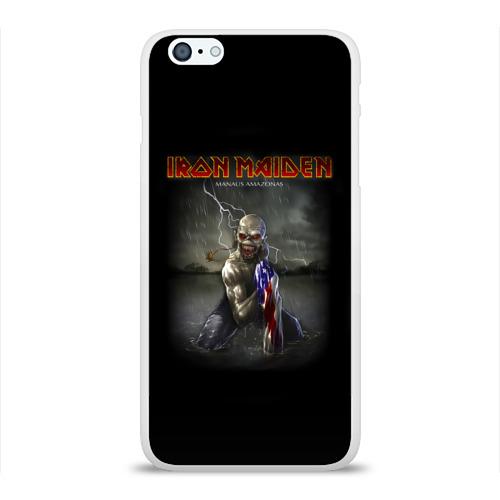 Чехол для Apple iPhone 6Plus/6SPlus силиконовый глянцевый  Фото 01, Iron Maiden manaus amazonas
