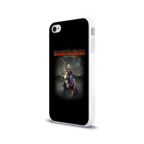 Чехол для Apple iPhone 4/4S силиконовый глянцевый  Фото 03, Iron Maiden manaus amazonas