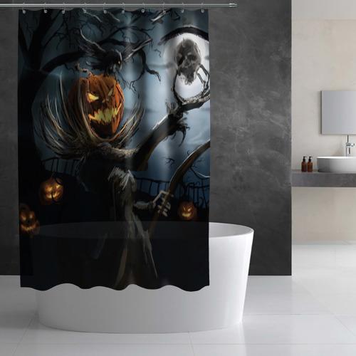 Штора 3D для ванной  Фото 03, Jack