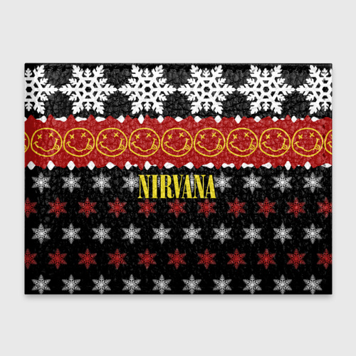 Обложка для студенческого билета  Фото 01, Nirvana праздничный