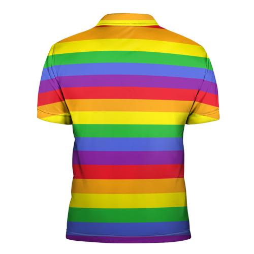 Мужская рубашка поло 3D  Фото 02, Единорог