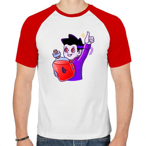 Мужская футболка реглан  Фото 01, Лайк от Вампира