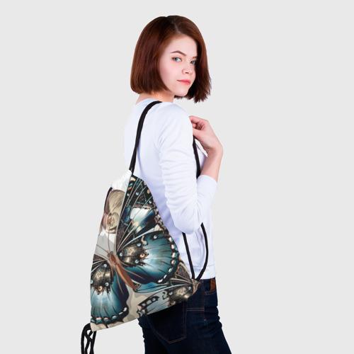 Рюкзак-мешок 3D Бабочки Фото 01
