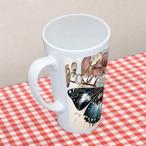 Кружка Латте  Фото 05, Бабочки