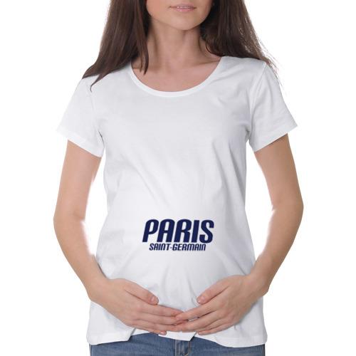 Футболка для беременных хлопок Paris Saint Germain (PSG)