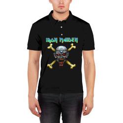Iron Maiden череп и кости