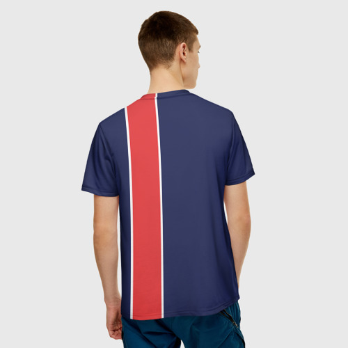 Мужская футболка 3D  Фото 02, PSG 2018 Original #1