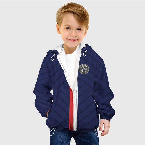 Детская куртка 3D  Фото 03, PSG 2018 Original #2