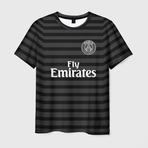 Мужская футболка 3D  Фото 03, PSG 2018 Original #4