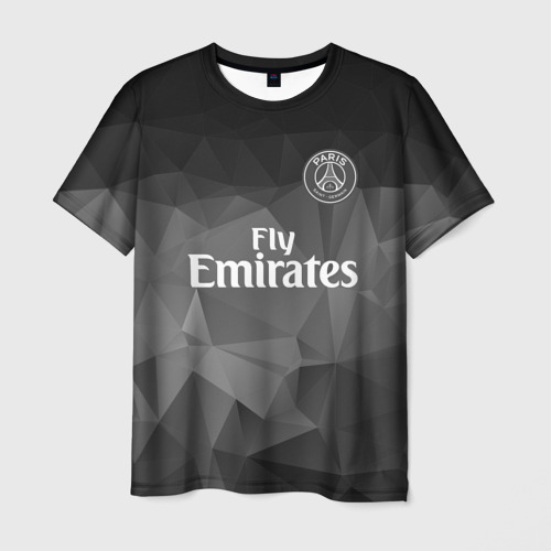 Мужская футболка 3D  Фото 03, PSG 2018 Original #5