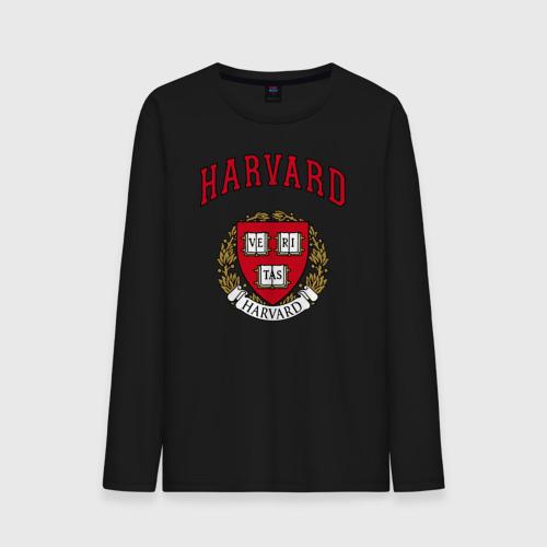 Мужской лонгслив хлопок  Фото 01, Harvard university