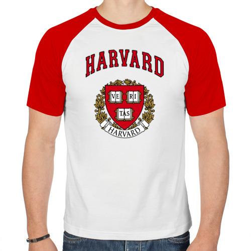 Мужская футболка реглан  Фото 01, Harvard university