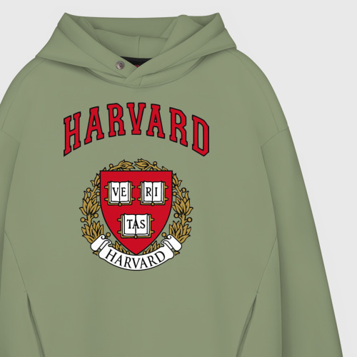 Мужское худи Oversize хлопок Harvard university Фото 01