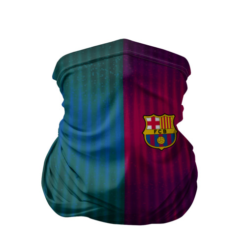 Бандана-труба 3D  Фото 01, FC Barcelona 2018 abstract