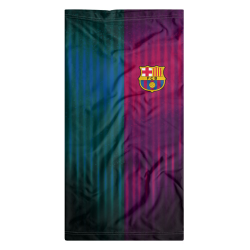 Бандана-труба 3D  Фото 07, FC Barcelona 2018 abstract