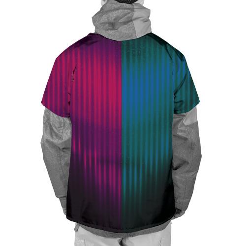Накидка на куртку 3D  Фото 02, FC Barcelona 2018 abstract