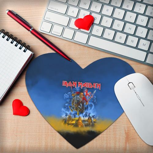 Коврик для мыши сердце  Фото 02, Iron Maiden