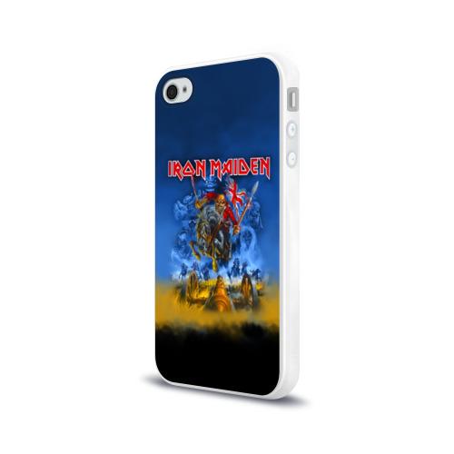 Чехол для Apple iPhone 4/4S силиконовый глянцевый  Фото 03, Iron Maiden