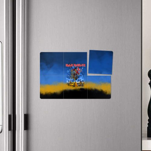 Магнитный плакат 3Х2  Фото 04, Iron Maiden