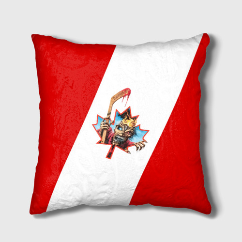 Подушка 3D  Фото 01, Флаг Канады Iron Maiden