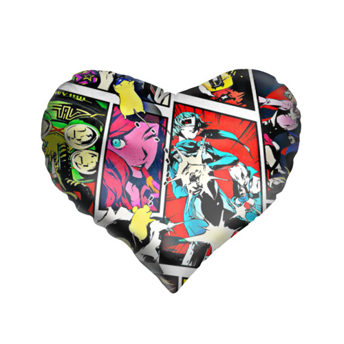 Подушка 3D сердце