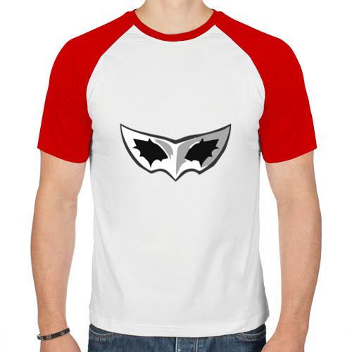 Мужская футболка реглан  Фото 01, persona 5