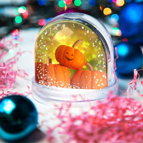 Водяной шар со снегом  Фото 03, Pumpkin