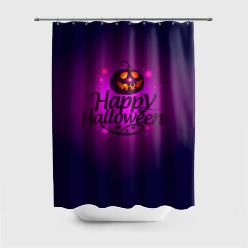Штора 3D для ванной  Фото 01, Happy Halloween