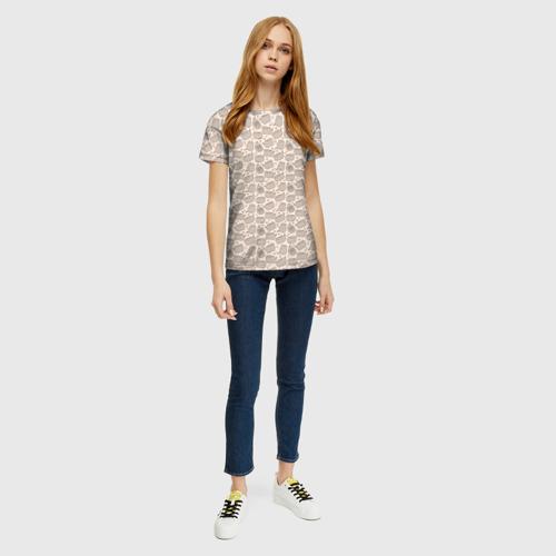 Женская футболка 3D Pusheen Pattern Фото 01