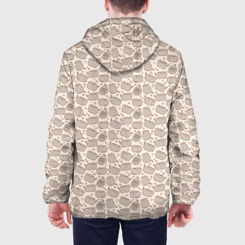 Мужская куртка 3D Pusheen Pattern Фото 01