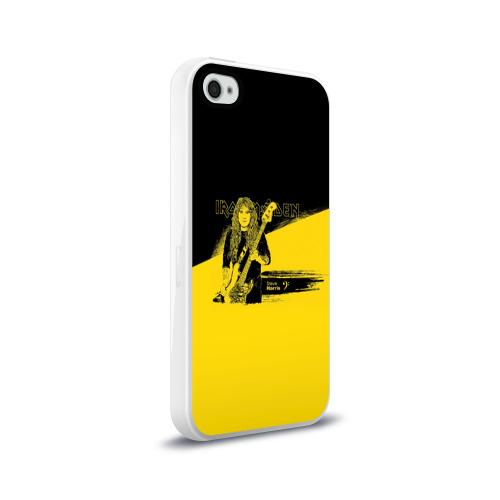 Чехол для Apple iPhone 4/4S силиконовый глянцевый  Фото 02, Iron Maiden, Steve Harris