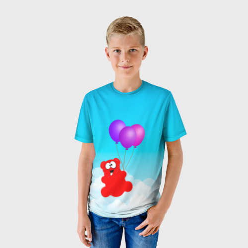 Детская футболка 3D Воздушный шарик