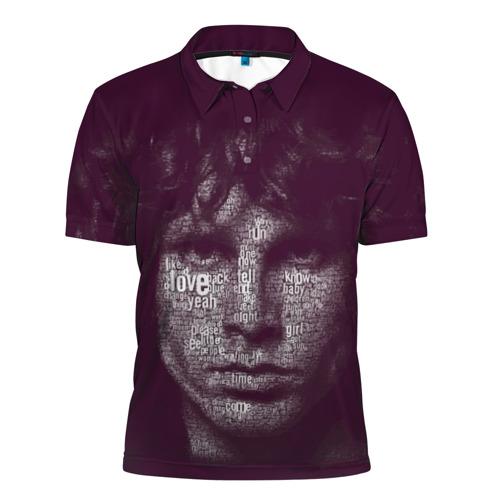 Мужская рубашка поло 3D The Doors Фото 01