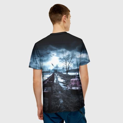 Мужская футболка 3D  Фото 02, S.T.A.L.K.E.R. - Д.И.М.А.