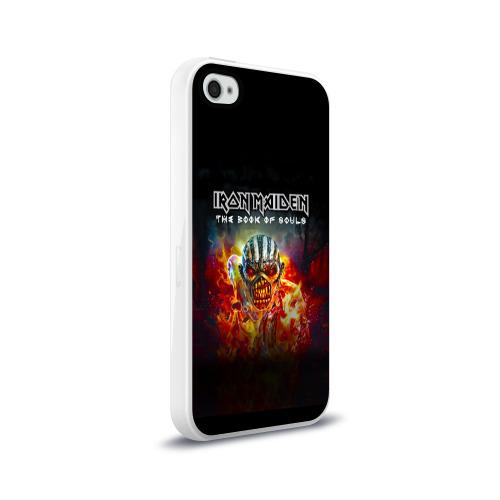 Чехол для Apple iPhone 4/4S силиконовый глянцевый  Фото 02, Iron Maiden