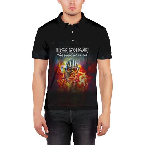 Мужская рубашка поло 3D  Фото 03, Iron Maiden