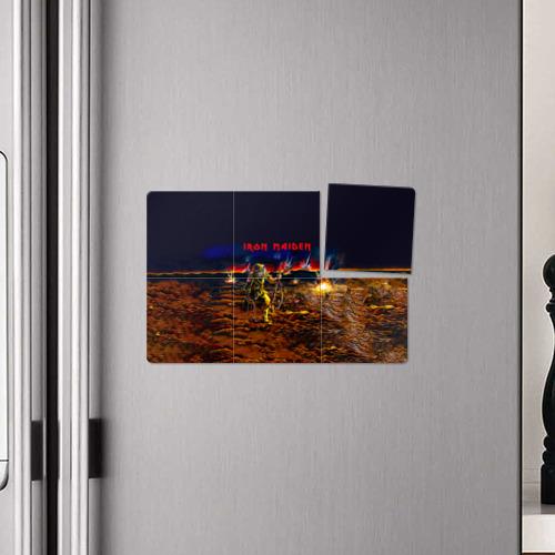 Магнитный плакат 3Х2  Фото 04, Боец Iron Maiden