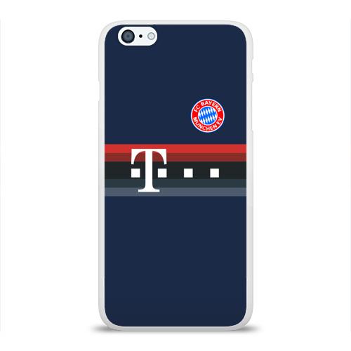 Чехол для Apple iPhone 6Plus/6SPlus силиконовый глянцевый  Фото 01, FC Bayern 2018 Original #5