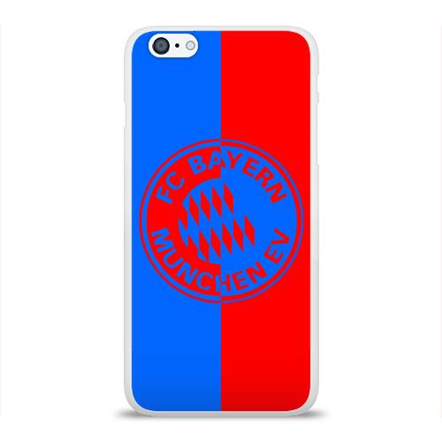 Чехол для Apple iPhone 6Plus/6SPlus силиконовый глянцевый  Фото 01, FC Bayern 2018 Original #9