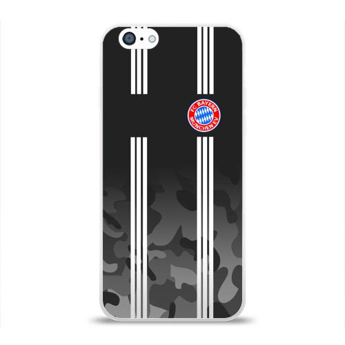 Чехол для Apple iPhone 6 силиконовый глянцевый FC Bayern 2018 Original #2 Фото 01