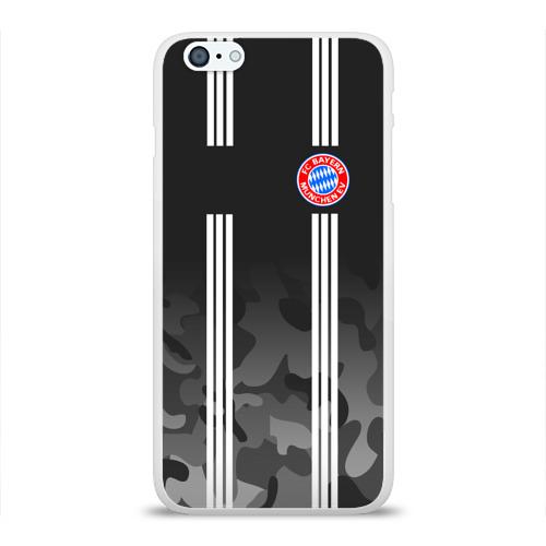 Чехол для iPhone 6/6S Plus глянцевый FC Bayern 2018 Original #2 Фото 01