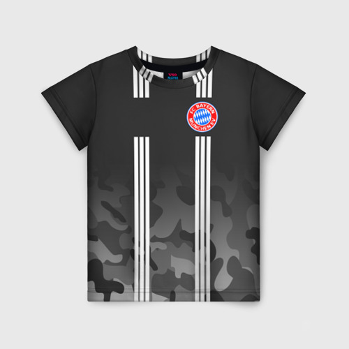Детская футболка 3D FC Bayern 2018 Original #2 Фото 01